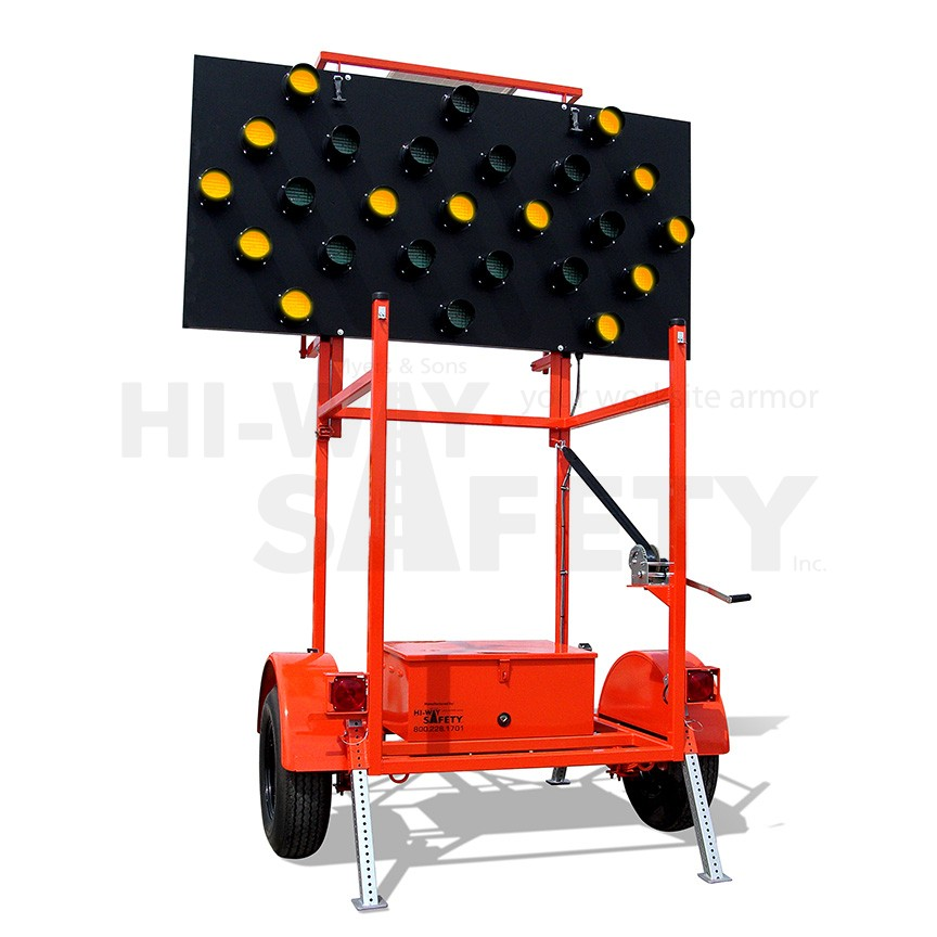 Arrow Board Trailer Highway Safety Products
