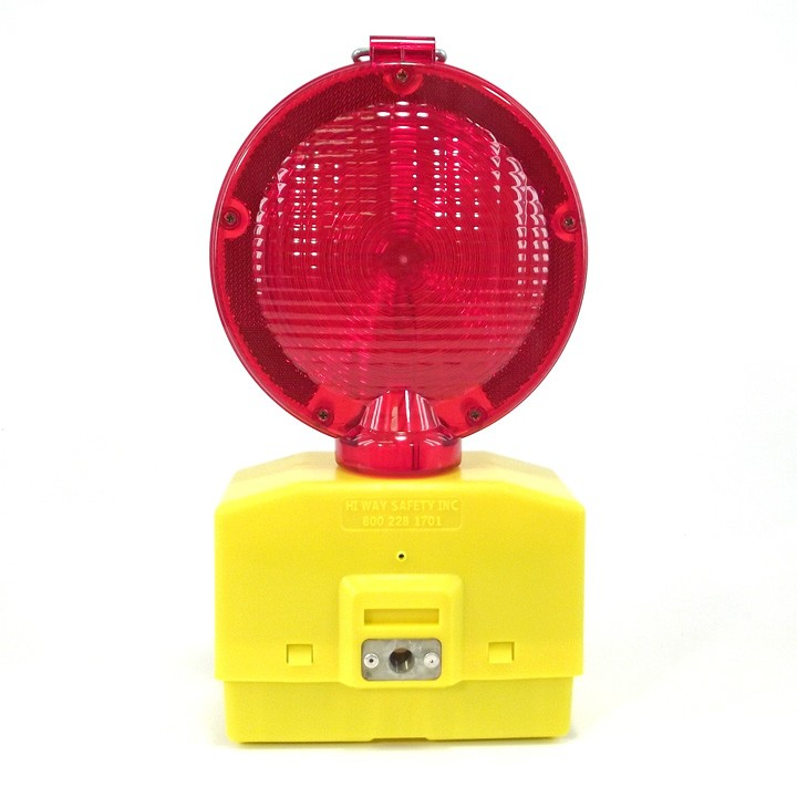 Eecolite II Battery Powered Barricade Light, Red