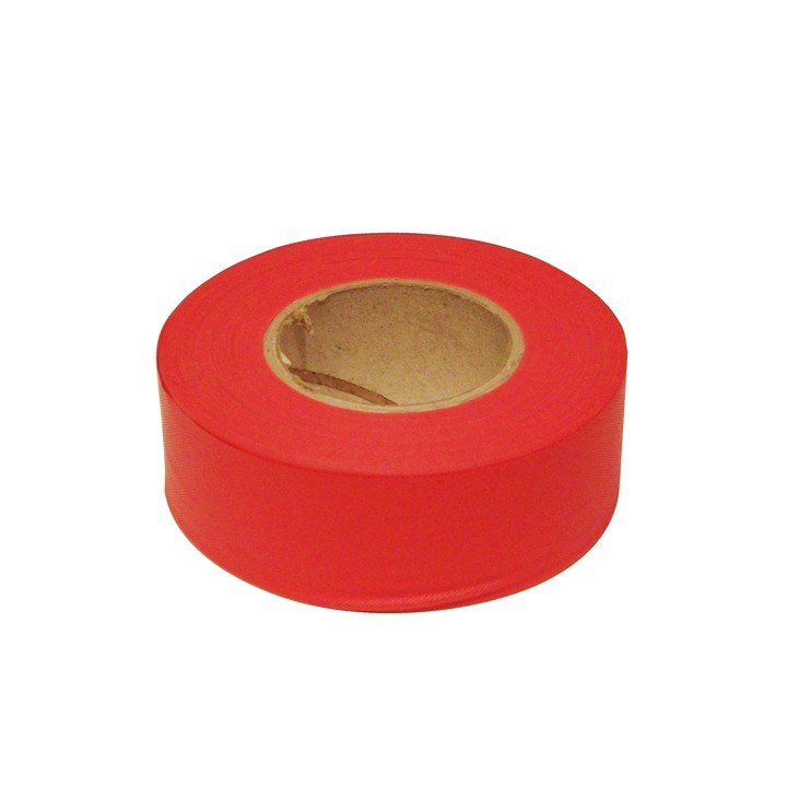 PVC Surveyors Tape, Red