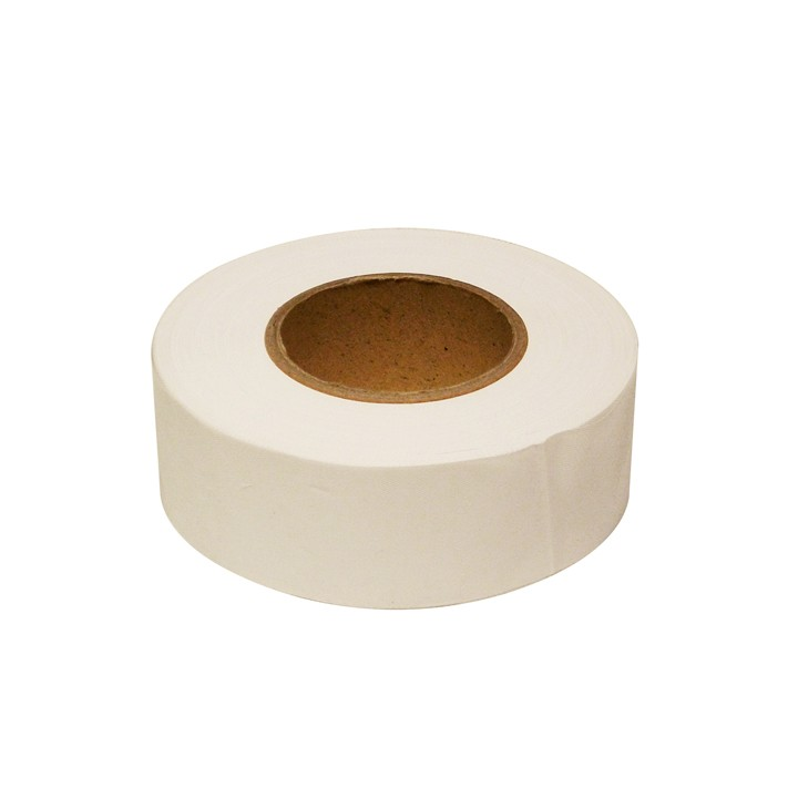 PVC Surveyors Tape, White