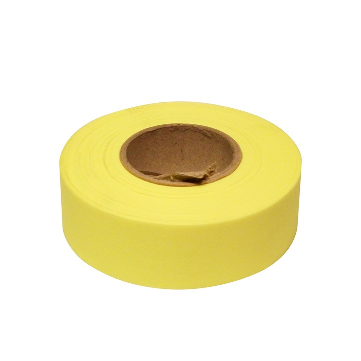 PVC Surveyors Tape, Yellow