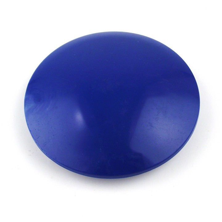 4 inch ABS Plastic Dot, Blue