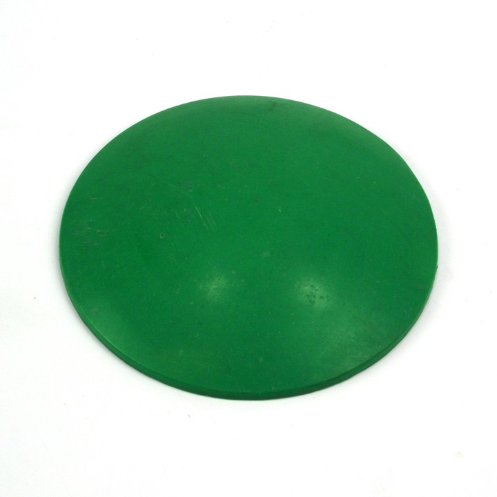 4 inch ABS Plastic Dot, Green