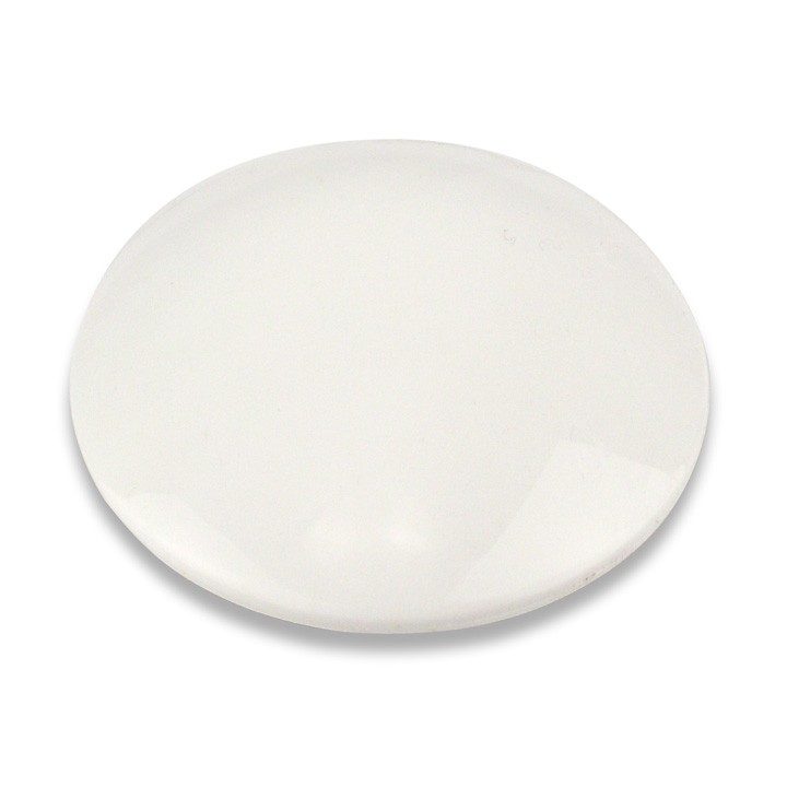 4 inch ABS Plastic Dot, White