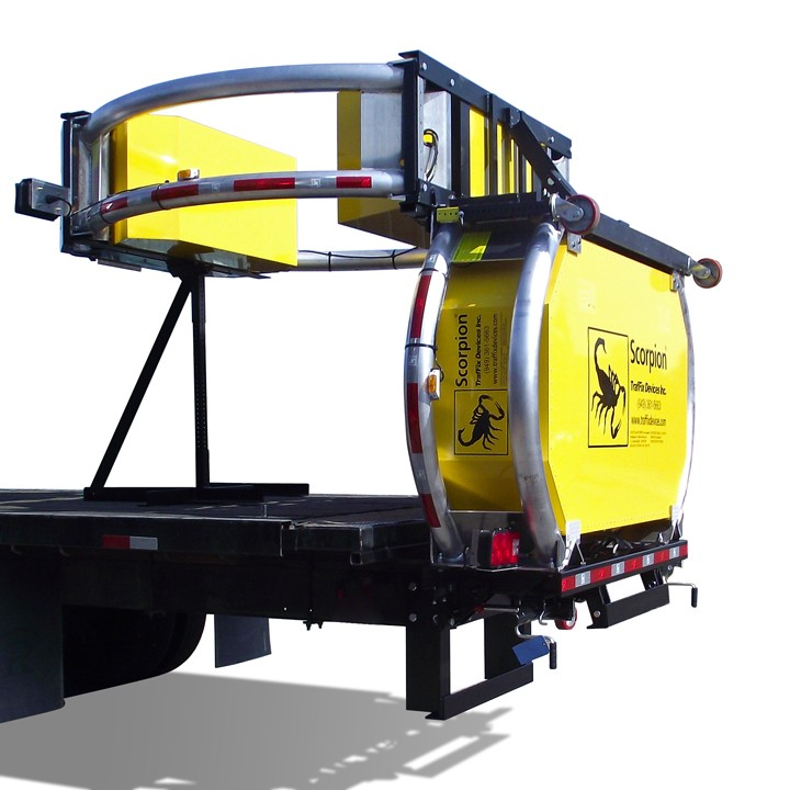 Scorpion Truck Mounted Attenuator, 100K