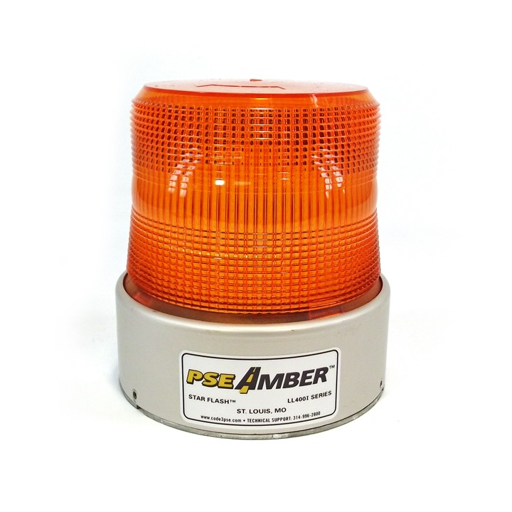 Code3® Star Flash LL400I Series, Amber Beacon