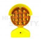 Battery Powered Type B Barricade Light, Amber