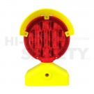 Battery Powered Type B Barricade Light, Red