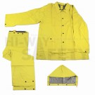 Yellow PVC Rainsuit