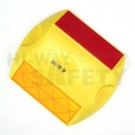 3M Raised Pavement Marker Yellow and Red
