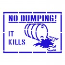 NO DUMPING IT KILLS
