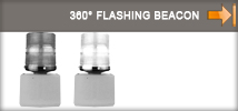 360 Flashing Beacon Light